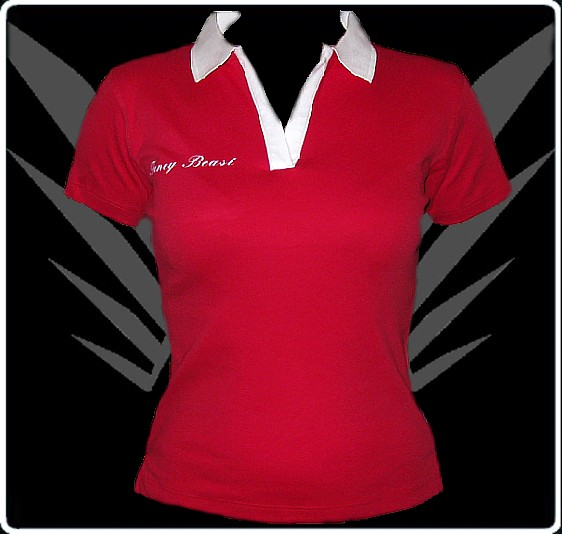 rotes tattoo damen polo shirt fb120s 2 kleider g nstig. Black Bedroom Furniture Sets. Home Design Ideas