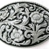 Western Ornament Buckle Gürtelschnalle Belt