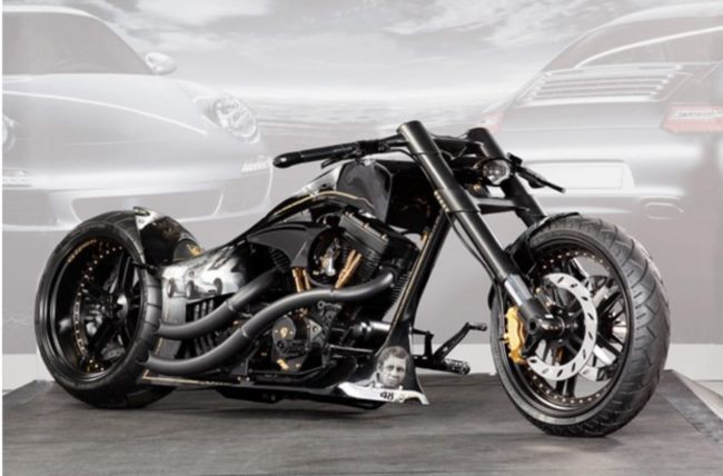 Designer Custom Bike Cooler Als Batman Und Ghost Rider