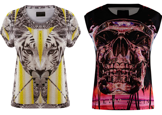 philipp plein t shirts herren damen fashion shop