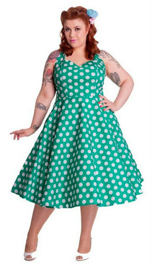 Rockabilly kleid xxl gunstig