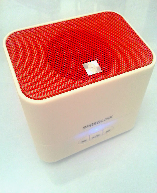 portable bluetooth speaker test der speedlink token. Black Bedroom Furniture Sets. Home Design Ideas