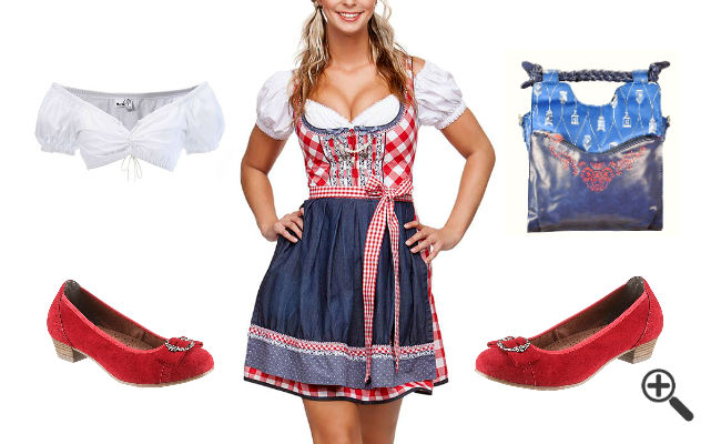 dirndl 2016 trends so hat emma ihr perfektes oktoberfest outfit bis 87 g nstiger bei uns. Black Bedroom Furniture Sets. Home Design Ideas