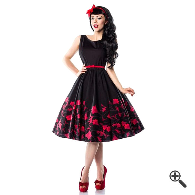 petticoat kleid 50er 3 rockabilly outfit tipps f r. Black Bedroom Furniture Sets. Home Design Ideas
