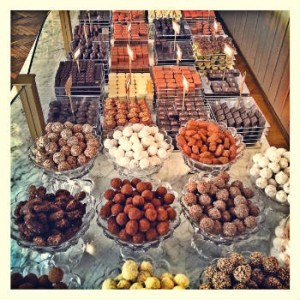 Schokolade aus Brüssel