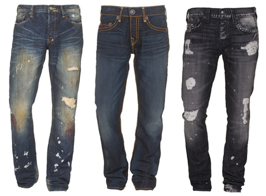 Jeans Trends: Diesel, Nudie, Dsquared, True Religion & Co.