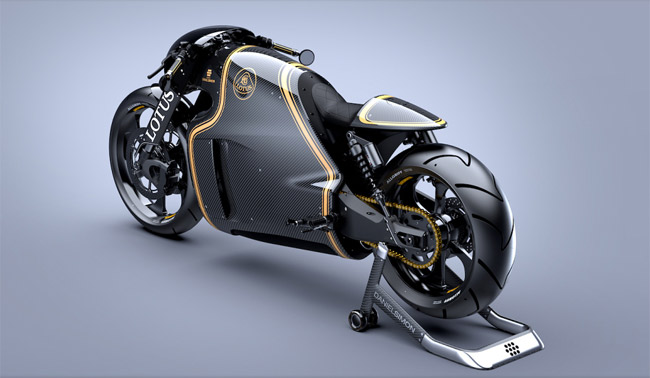 lotus motorcycle bike tron designer luxury style