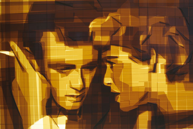 mark khaisman contemporary art tape design kunst