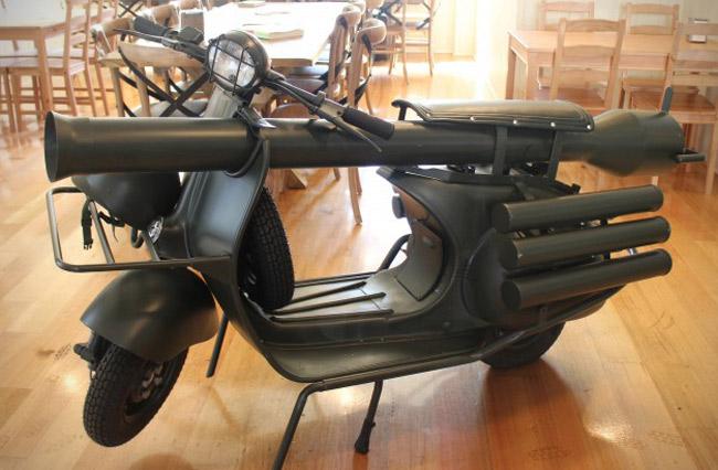außergewöhnliche geschenke männer design bike waffen
