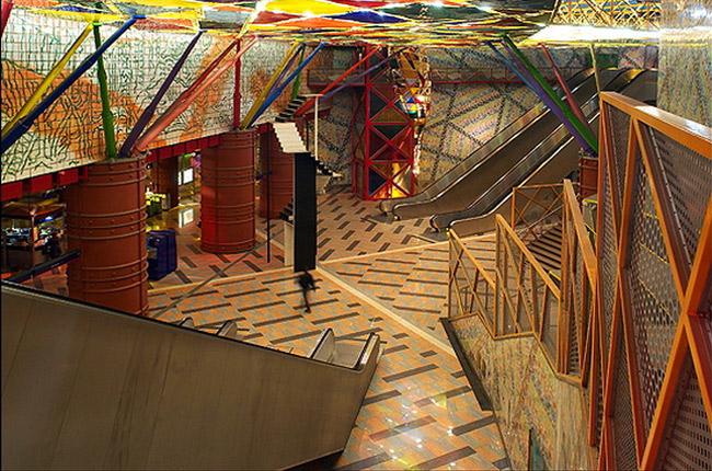 u bahn station kunst design art city underground architektur lissabon