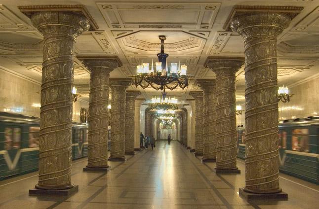u bahn station kunst design art city underground architektur st petersburg