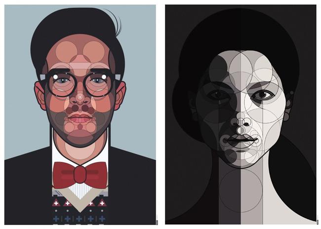 Ata Bozaki – Illustration und Grafik – digitale Portrait Kunst