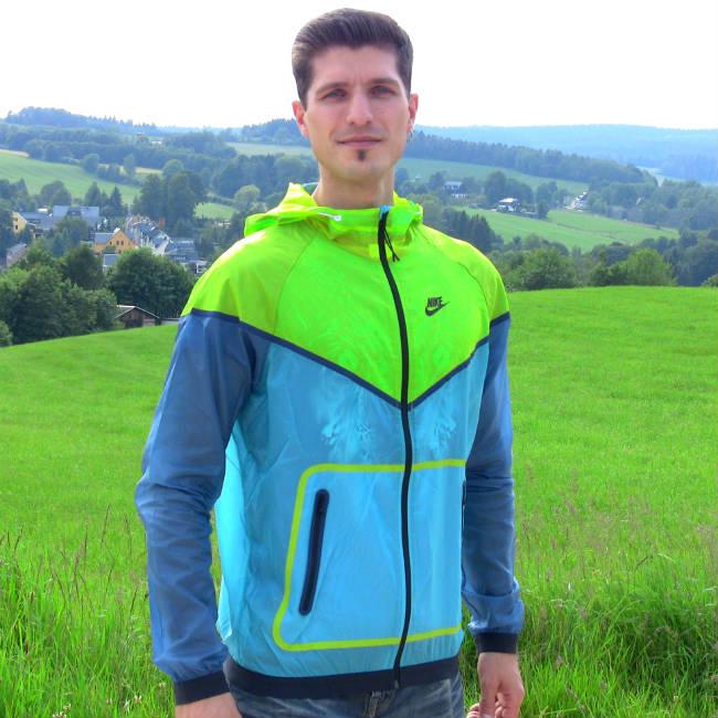Nike Windrunner Jacke Herren Test Blau 4