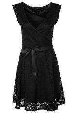 Kleid mit Spitze Spitzenkleid schwarz