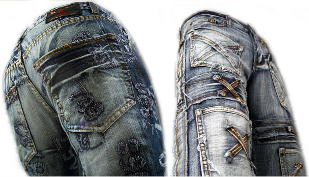 Kosmo Lupo Jeans Herren