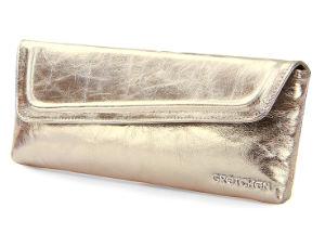 Gold Handtasche - Lange Abendkleider für Große Größen + Outfit Tipps