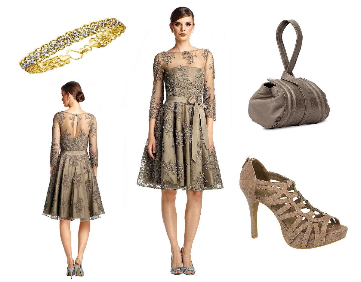 Italienische Kleider Mode im Romantik Stil Outfit