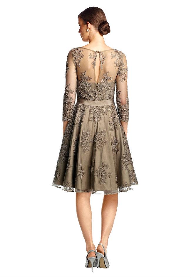 Italienische Kleider Mode im Romantik Stil Outfit - Kleider