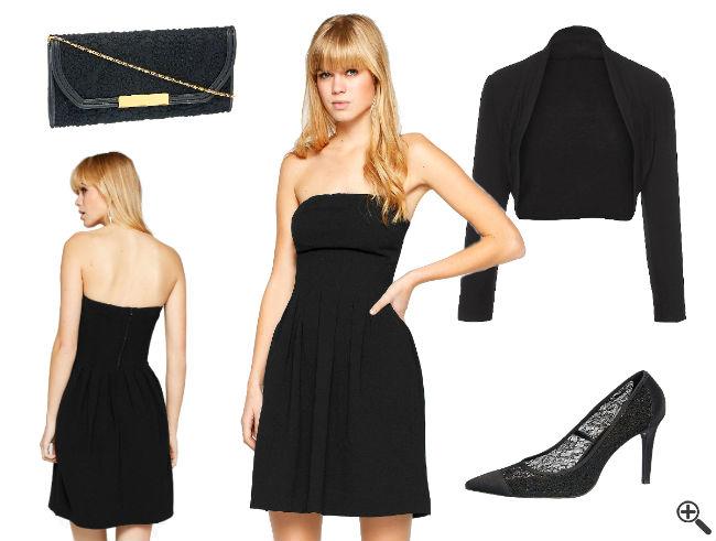 Festliche Kleider in A Linien Form in Knielang & Schwarz + Outfit Tipps