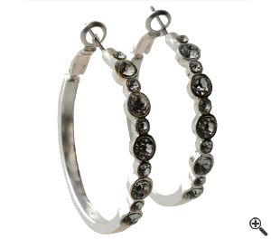 Ohrringe für Sexy Mini Kleider Elegante schwarz Outfit