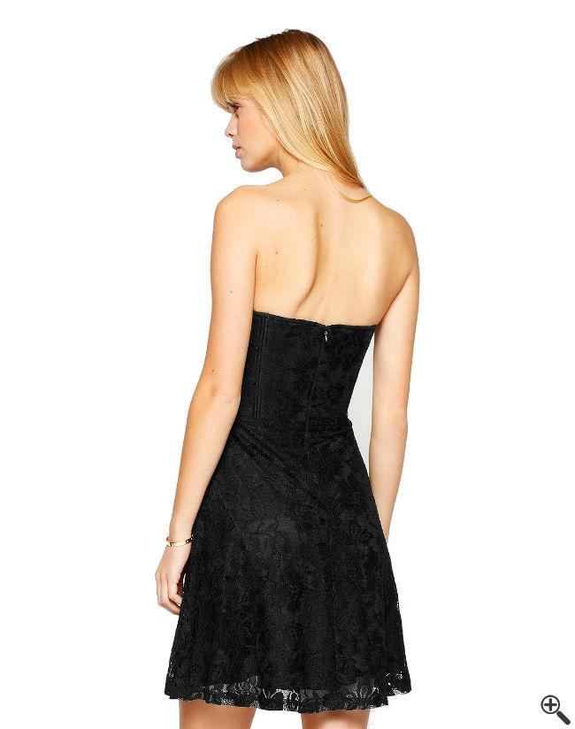 Schöne Partykleider Rückenfrei schwarz