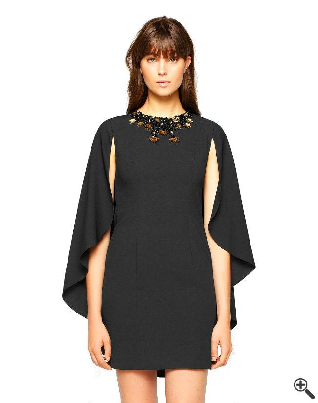 Sexy Mini Kleider Elegante schwarz Outfit