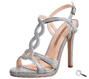 Silber Pump zum Schöne Abendkleider blau lang günstig Outfit Kleider