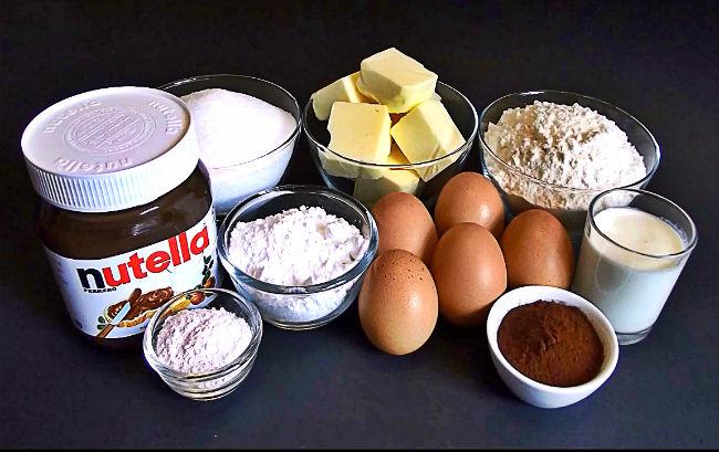 Backen mit Nutella – Kuchen Rezept aus meiner Kindheit