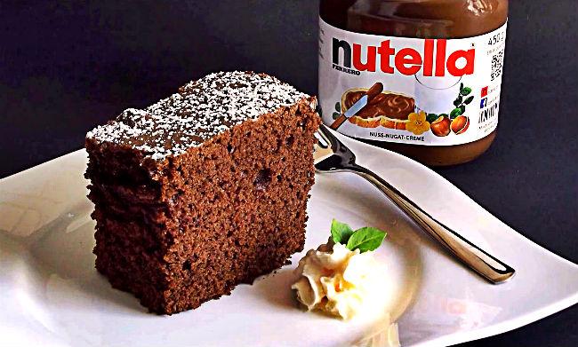 Backen mit Nutella – Kuchen Rezept