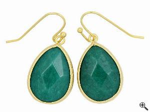 Ohrringe für Festliche Kleider zur Hochzeit als Gast grün lang Outfit