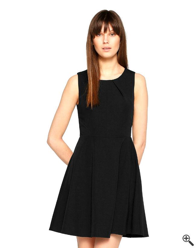 Schöne Cocktailkleider schwarz Disco Outfit Ideen