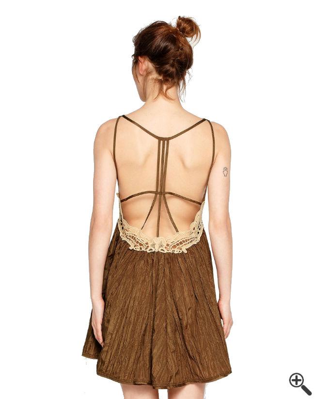 Schicke Kleider für Schwangere Rückenfrei festliche Outfit Umstandsmode