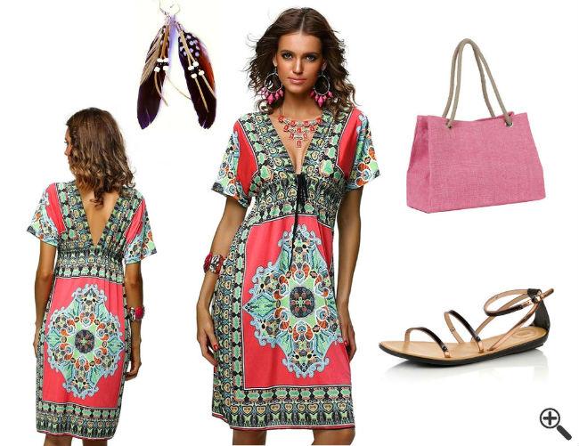 Strand Outfit Ideen Strandkleider große Größen