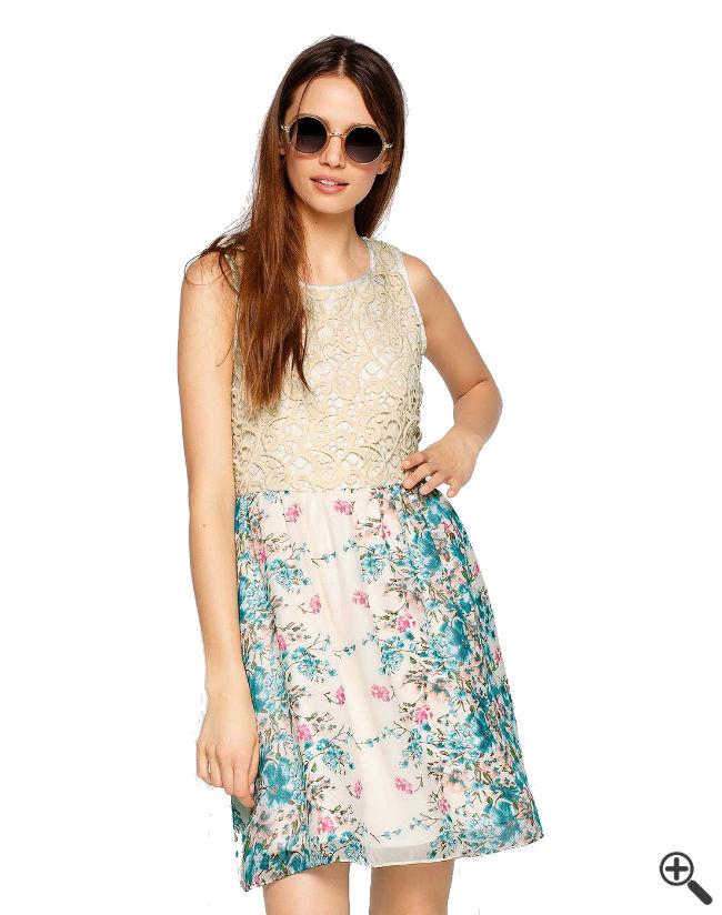 Außergewöhnliche Kleider kaufen Sommer Outfit 2015