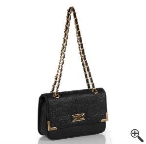 Handtasche für Trägerloses Kleid vorne kurz hinten lang schwarz Sommer Outfit