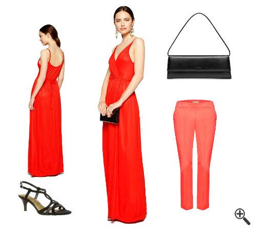 Kleid mit Hose drunter kombinieren Hochzeitsoutfit Gast