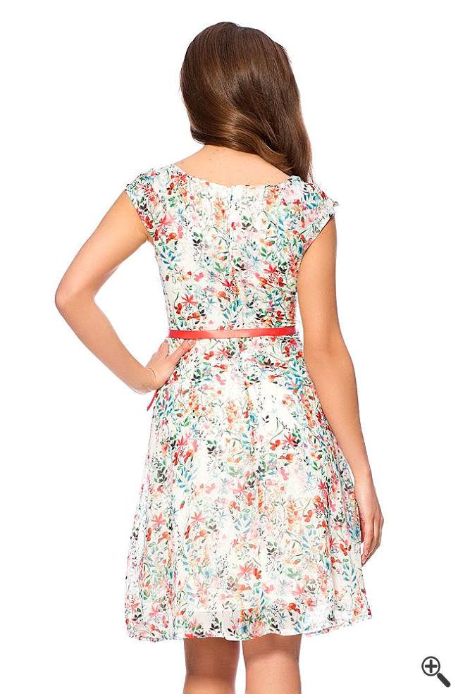 Luftig Leichte Sommerkleider Rücken Sommer Outfit 2015
