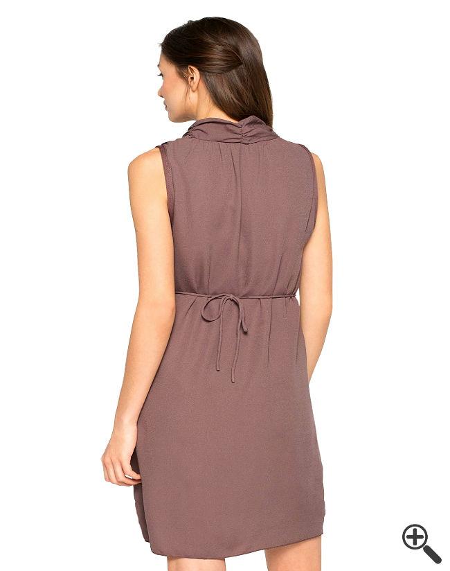 Strand Wickelkleid Braun Sommer Outfit Ideen