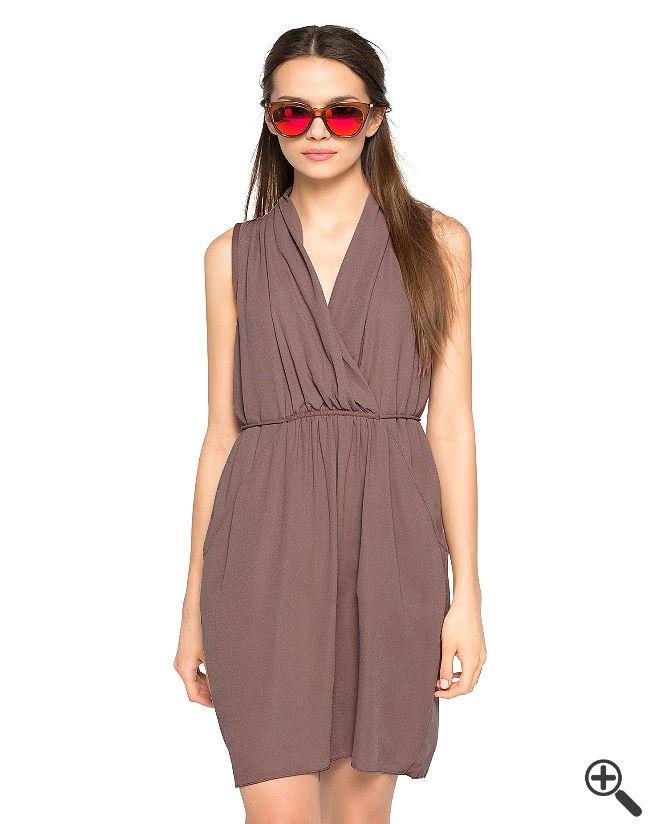 Strand Wickelkleid Sommer Outfit Ideen