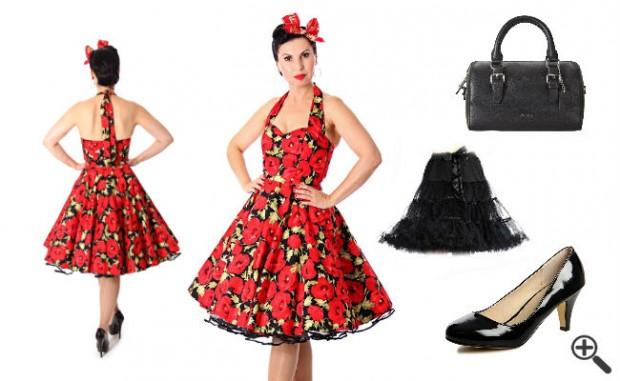 festliche petticoat kleider  kleider günstig online