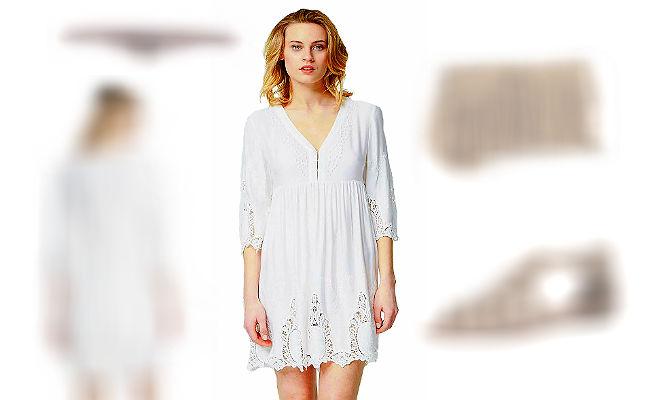 Wahnsinn, dass Victoria im Vintage Boho Kleid so gut aussieht + 3 Boho Style Outfit Tipps