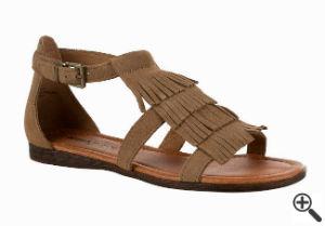 Sandale für Vintage Boho Kleid Boho Style Outfit