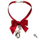 Halsband für Dirndl Schwarz Rot Dirndl Outfit