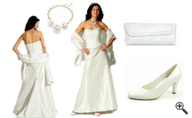 Schlichte Brautkleider Standesamt Outfit