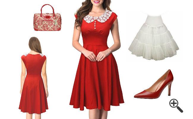 Outfit Weihnachtsfeier Kleider für Weihnachten