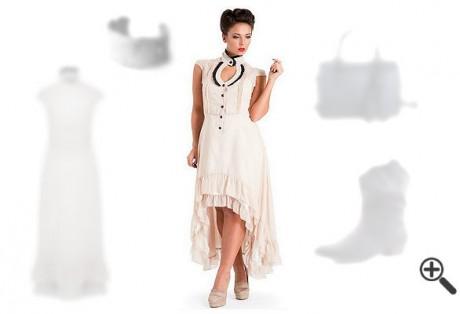 Westernkleider imCountry Style:Lusi suchte genau dieses eineWestern Outfit