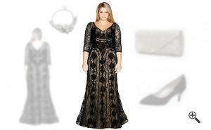 Elegante Abendkleider XXL lang
