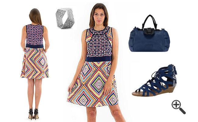 Ethno Style Ethno Kleider Muster Look