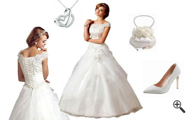 Hochzeitsoutfit Pompöse Brautkleider