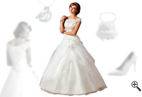Pompöse Brautkleider